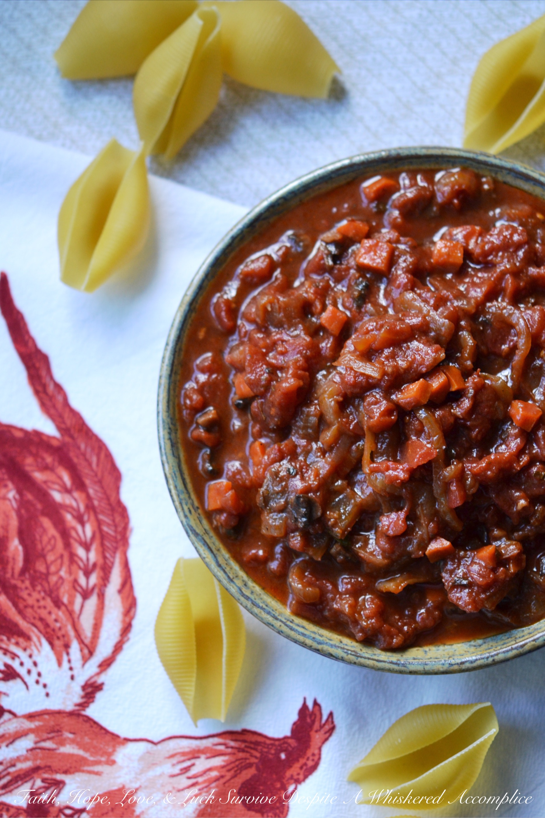 Game Day Overnight Crockpot Tomato Sauce