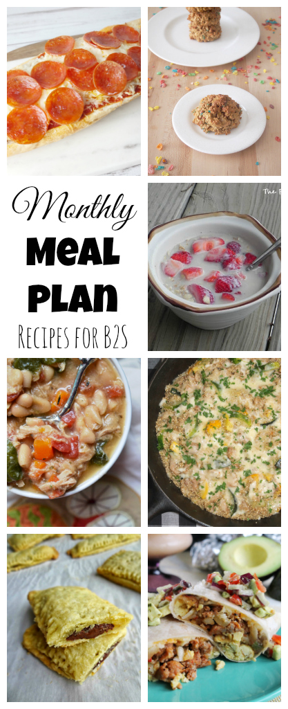 Now that summer is almost over, here are a few quick breakfast and weeknight meals to help you and your kids get ready for back to school season.