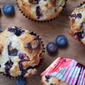 Chobani Simply 100 Blueberry Dinner Muffins - Faith, Hope, Love, and Luck Survive Despite a Whiskered Accomplice