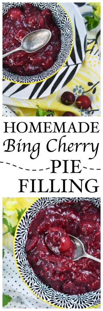 Not only is homemade cherry pie filling better than any canned variety you will find available at your local market, it is also easy as pie to make.