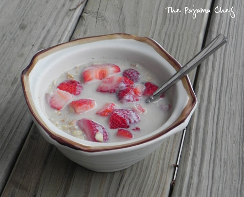 Maple Berry Overnight Oats - The Pajama Chef