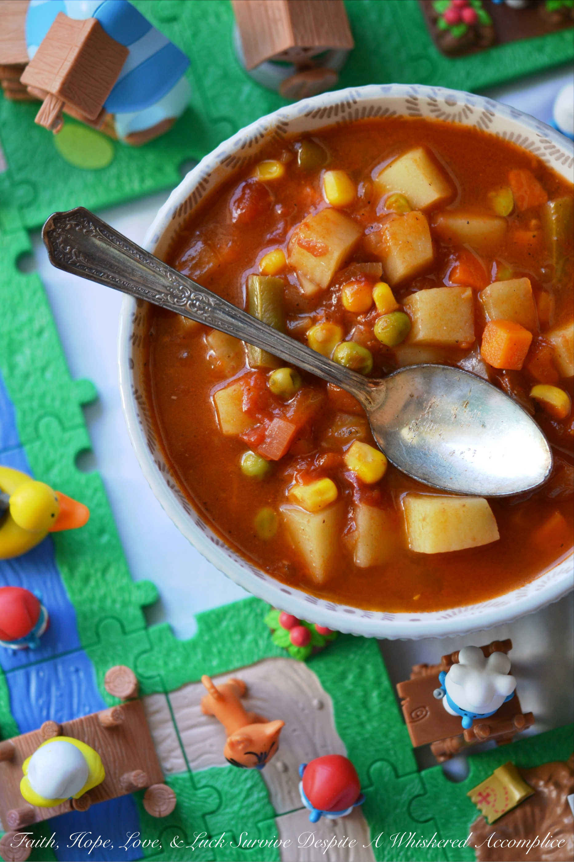 Classic Childhood Vegetable Soup