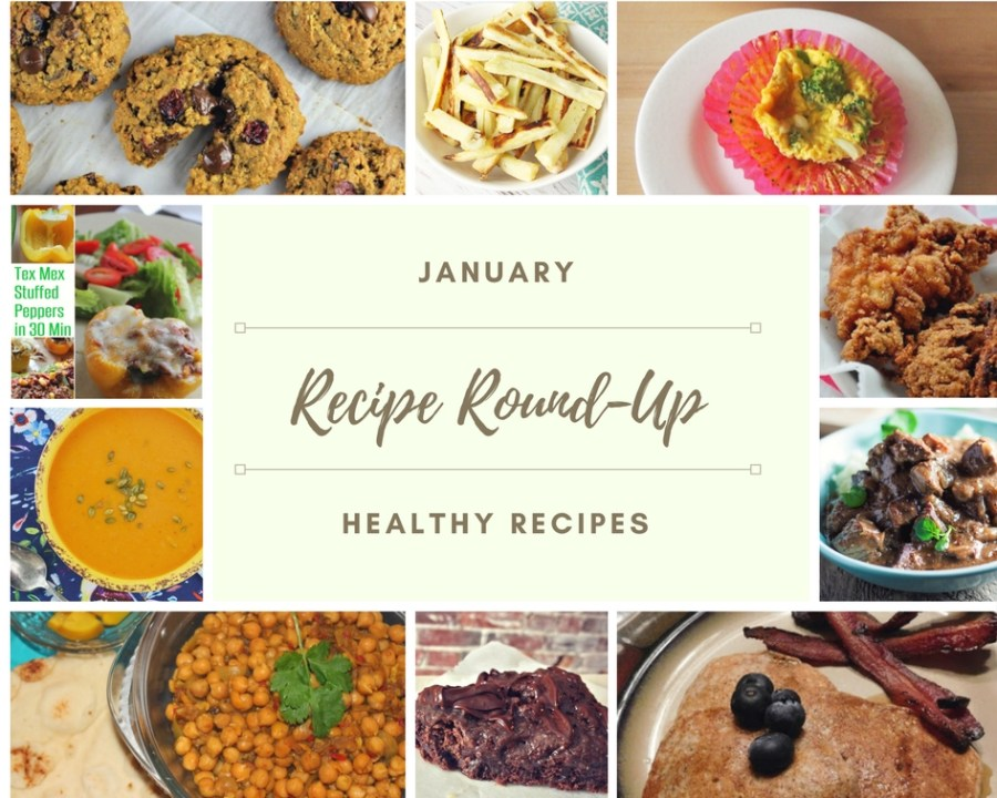 The month of January is all about making healthier choices and starting the new year off right. These healthy round-up recipes should help with that.