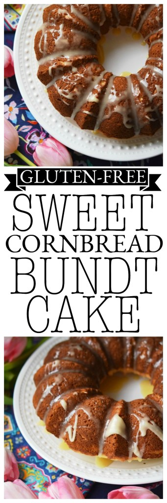 This sweet honey butter drizzled gluten-free cornbread Bundt is the perfect marriage between cake and cornbread. It truly is the best of both worlds, especially for those living a gluten-free lifestyle.