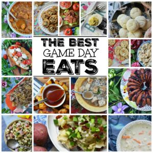 The Best Game Day Eats - The best and most delicious game day appetizers, soups, side salads, main dishes, and cookies for your Super Bowl football party or gathering.