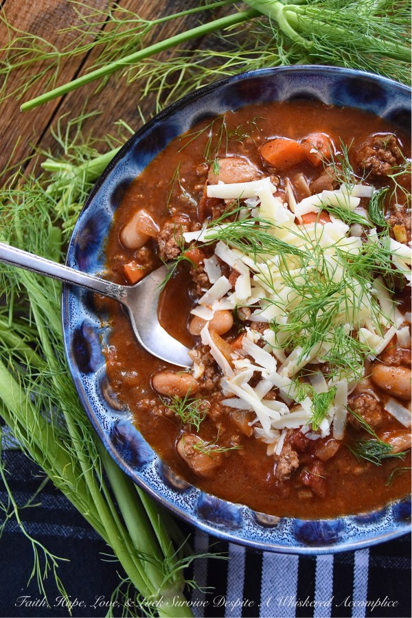 Homemade Better Than Canned One Pot Chili Faith Hope Love Luck Survive Despite A Whiskered Accomplice