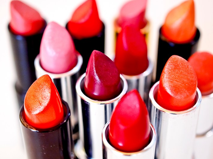 beautiful colorful lipsticks the make-up series