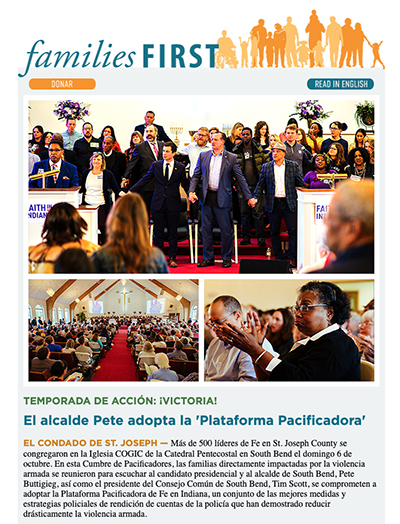 October e-news cover, Spanish