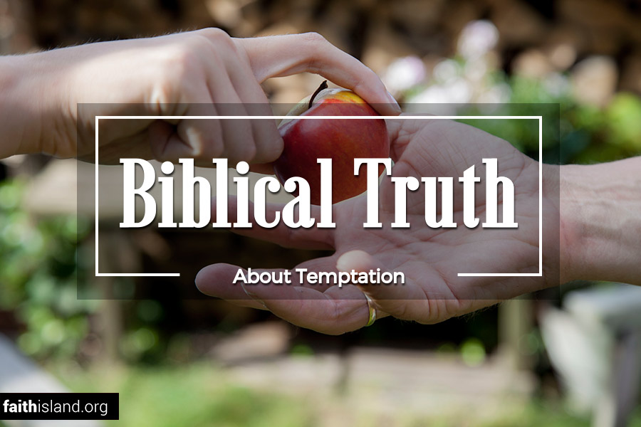Biblical truth about temptation