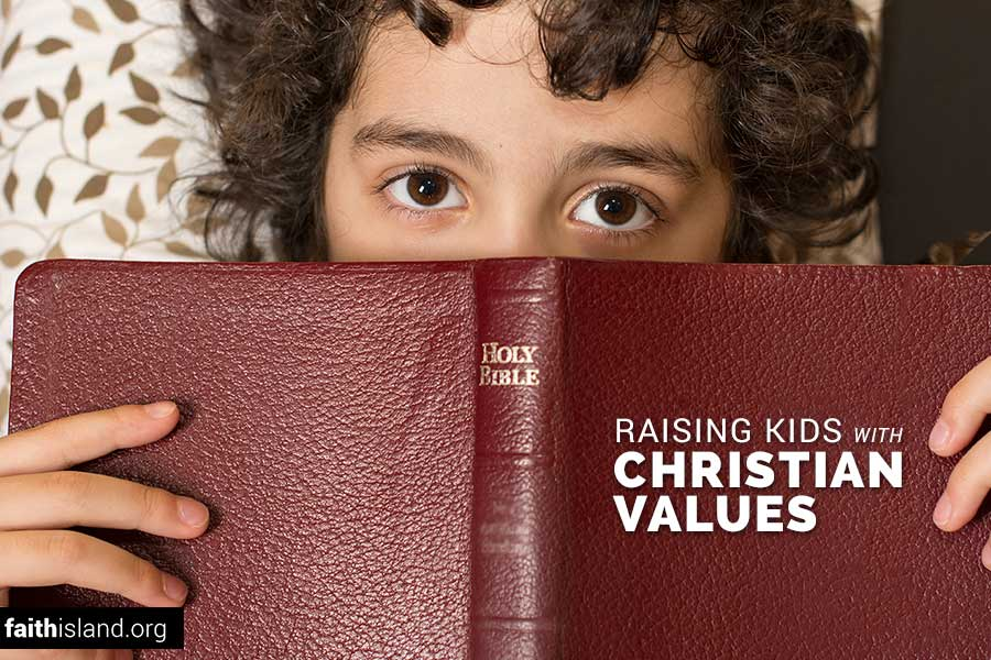 Raising kids with Christian values
