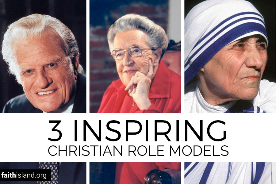 Billy Graham, Corrie ten Boom, Mother TheresaMother There