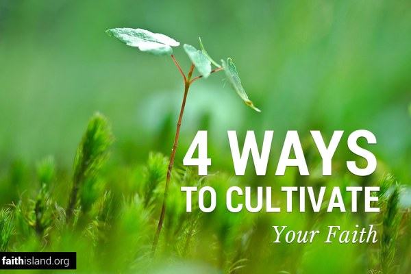 Four ways to cultivate your faith