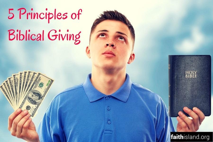 5 Principles of Biblical Giving