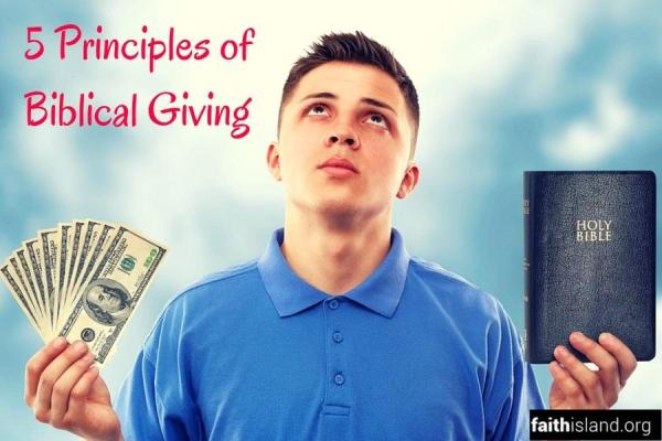 5 Principles of Biblical Giving