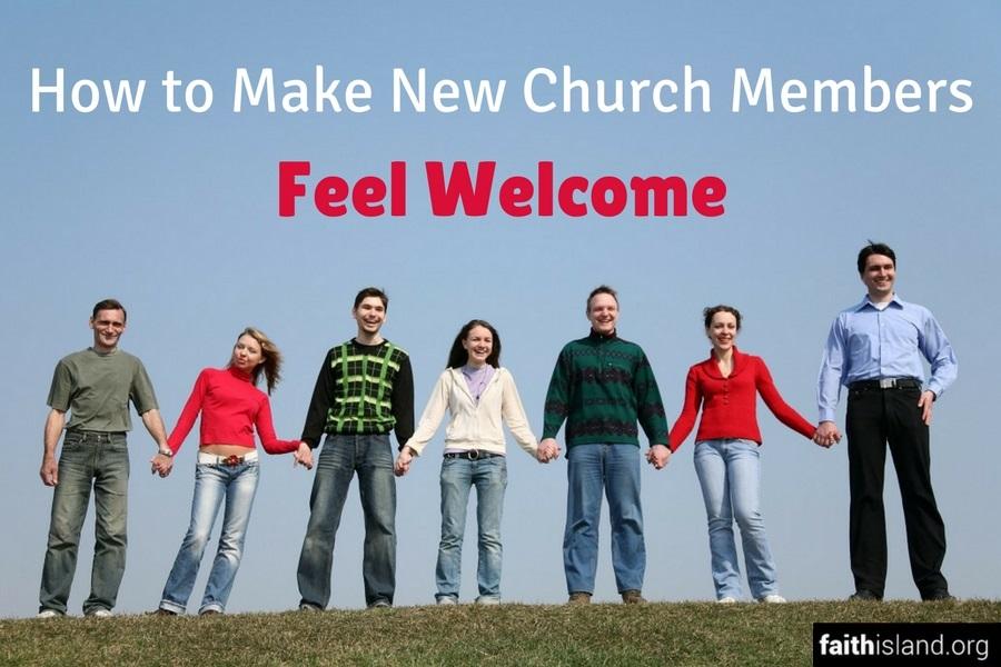 How to Make New Church Members Feel Welcome