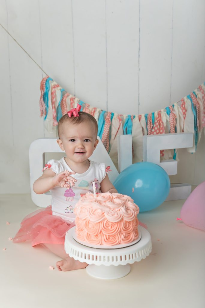 Painesville Twp first birthday pictures
