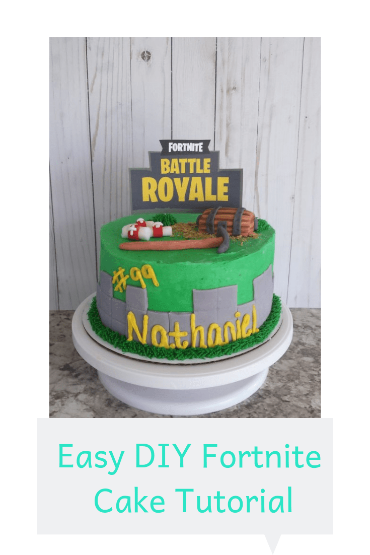 Easy Diy Fortnite Cake Faith Love And Chocolate Order fortnite cake from ferns n petals which has great collection of fortnite birthday cake in dubai for different occasions. easy diy fortnite cake faith love