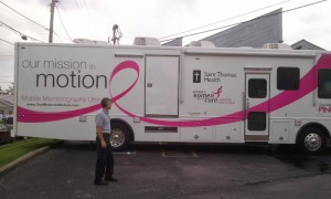 Mobile Mammograms at Faith Family