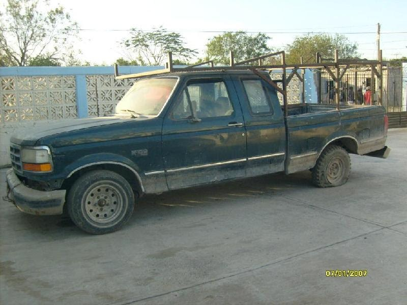 A truck that needs replacing in Reynosa