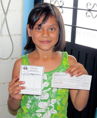 A scholarship student in Reynosa