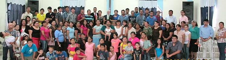 The Reynosa and Naranjito churches celebrating