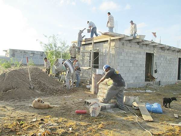 Building a house in Mexico