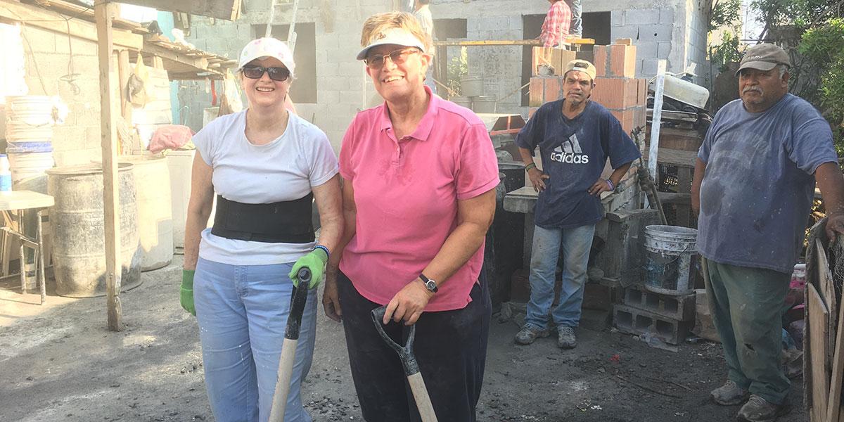 A team from Pennsylvania working hard in Reynosa