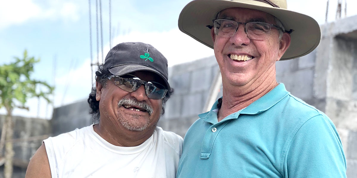 Friends Lupe and Bill in Reynosa
