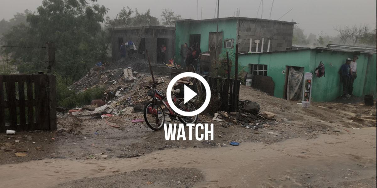 The heavy rain in Reynosa last week