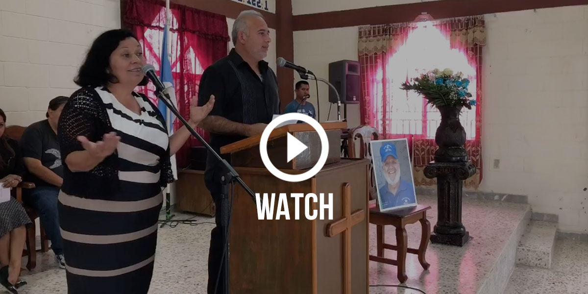 Click to watch the full memorial service on Facebook