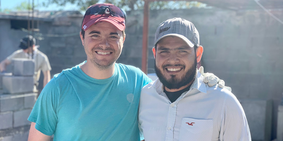 New friends and fellow pastors from North Carolina and Reynosa together in Mexico