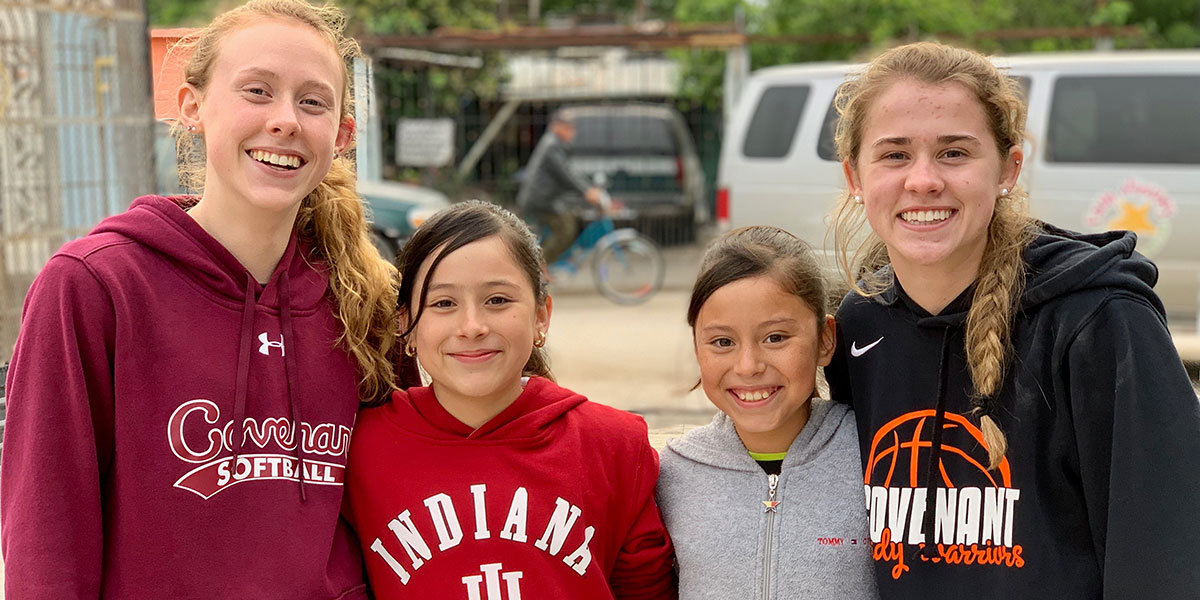 Sisters and friends from Indiana and Reynosa reunited in Mexico