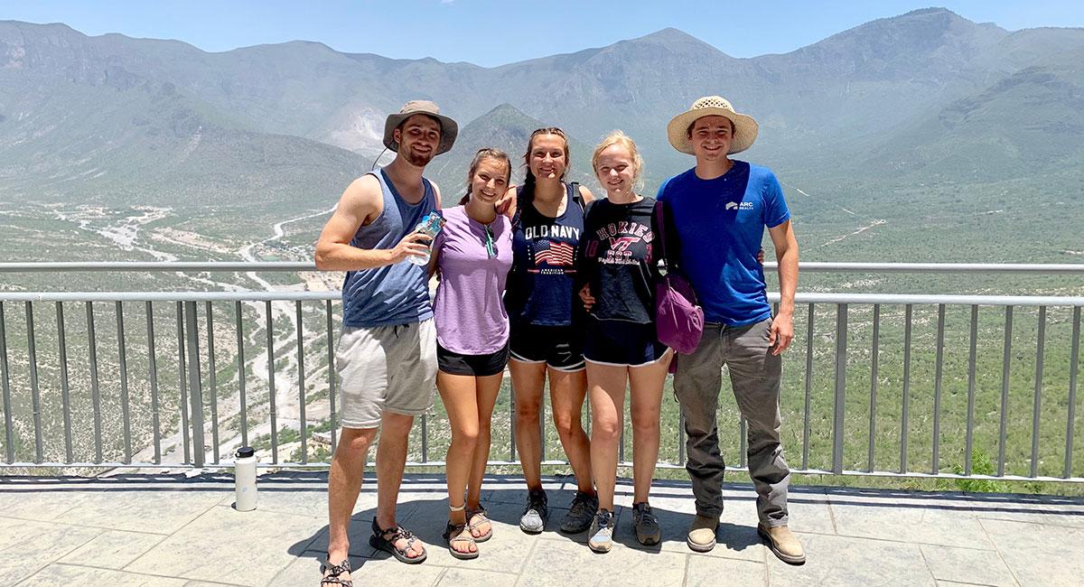 Our summer interns in Monterrey Mexico