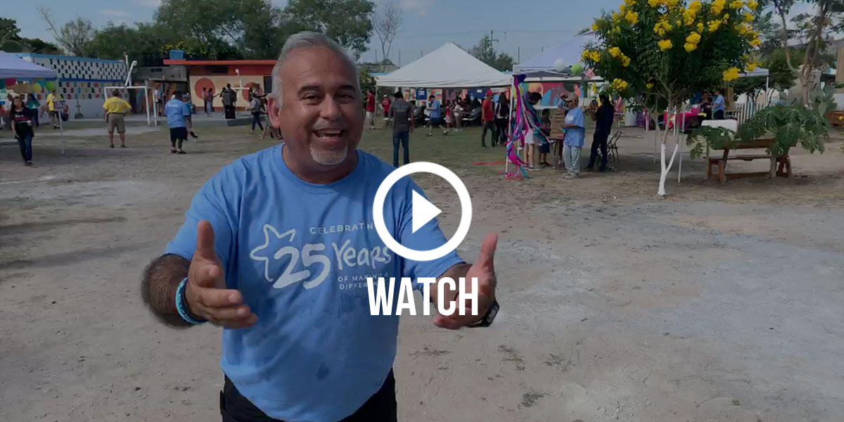 Click to watch David's tour of the festival at the 25th anniversary fiesta