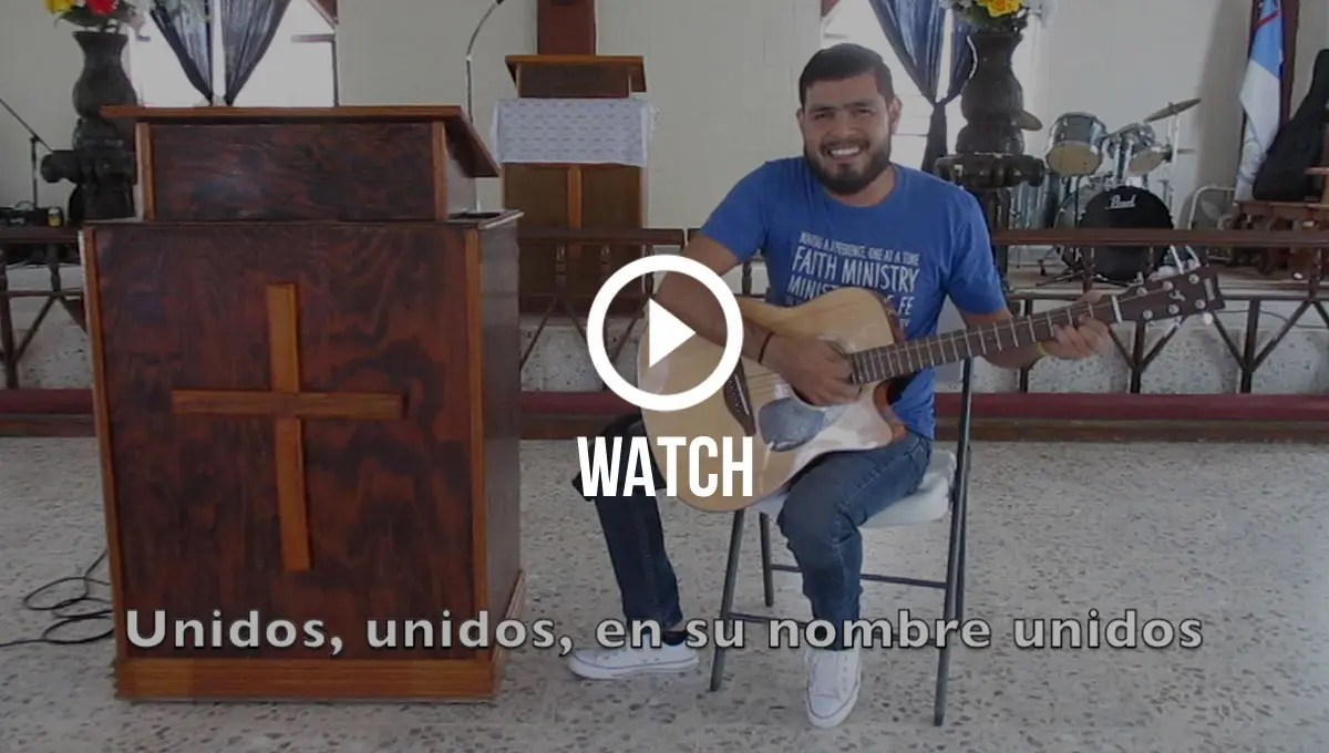 Click here for a special Unidos Unidos sing along with Pastor Carlos in Reynosa
