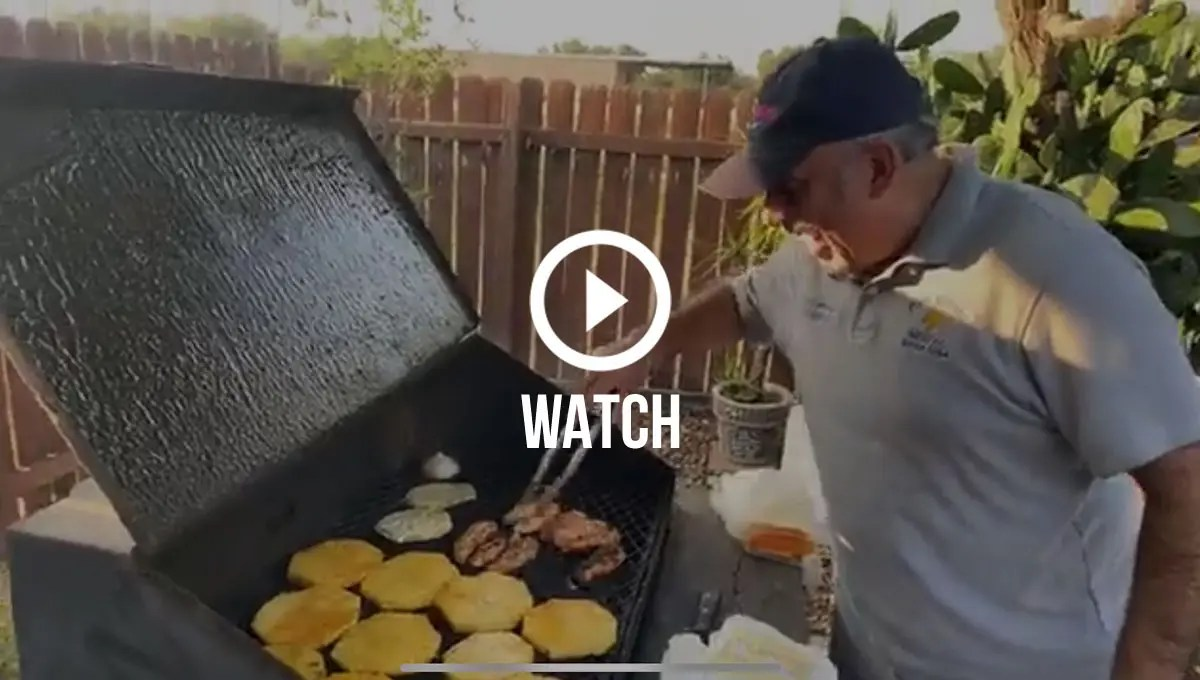 Click to watch round two of Davids virtual cookout