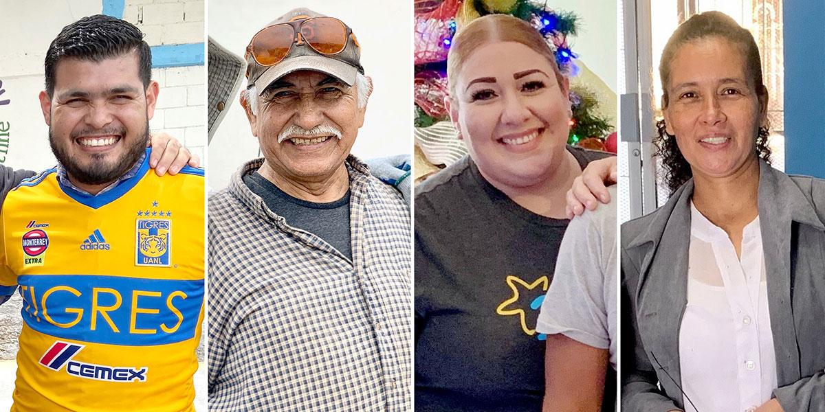Carlos Beto Agueda and Oralia celebrated birthdays this month