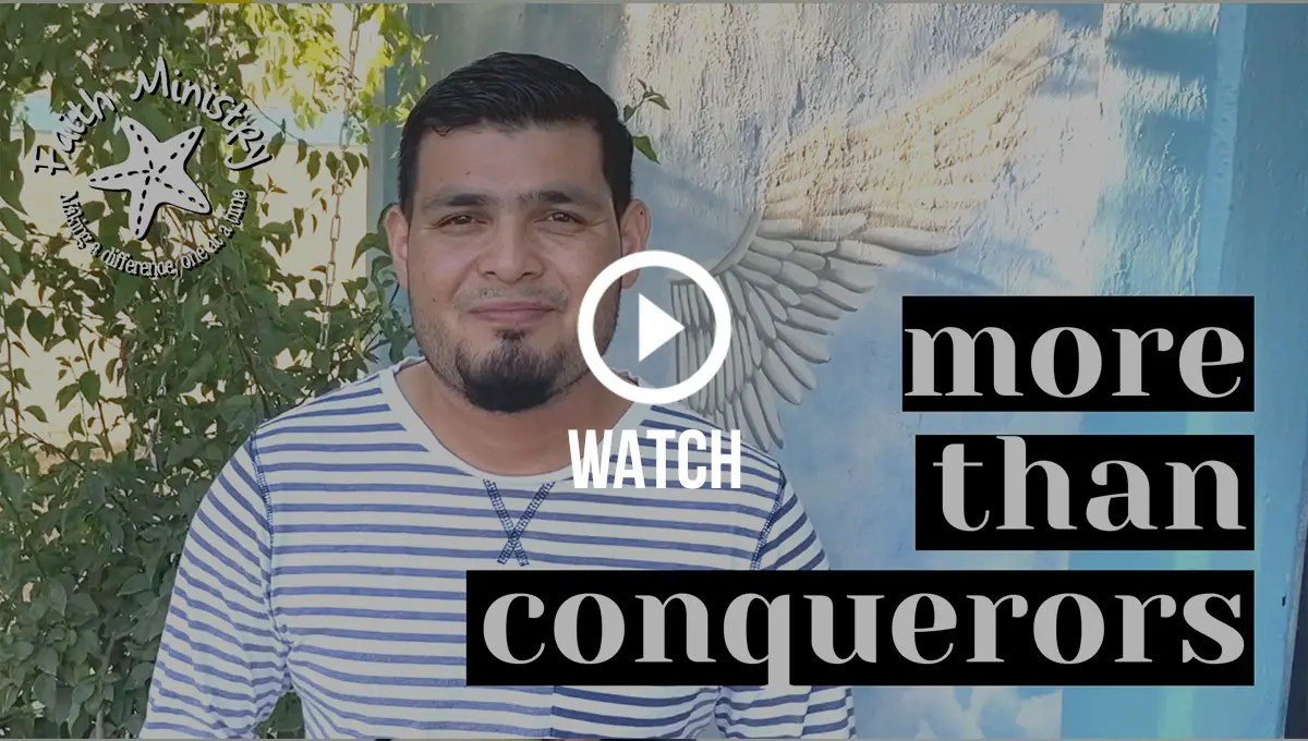 Click to watch Pastor Carlos and Emmanuel share a passage from Romans