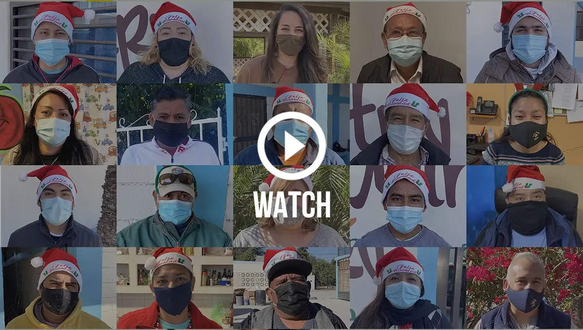 Click to watch a holiday message from our staff
