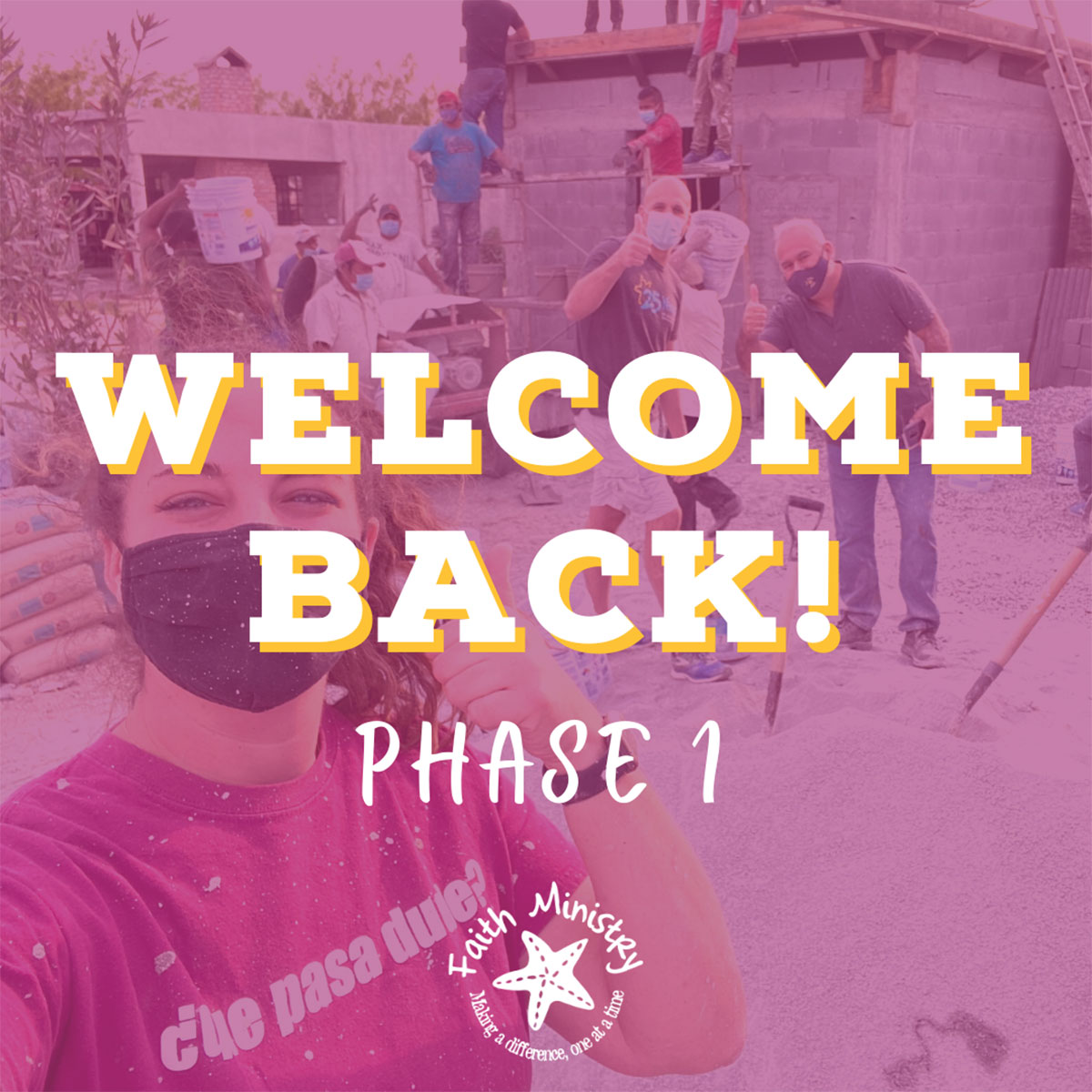Welcome Back Phase 1