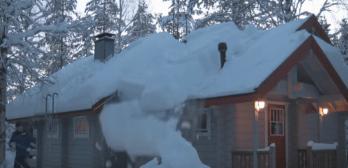 Hack removes snow