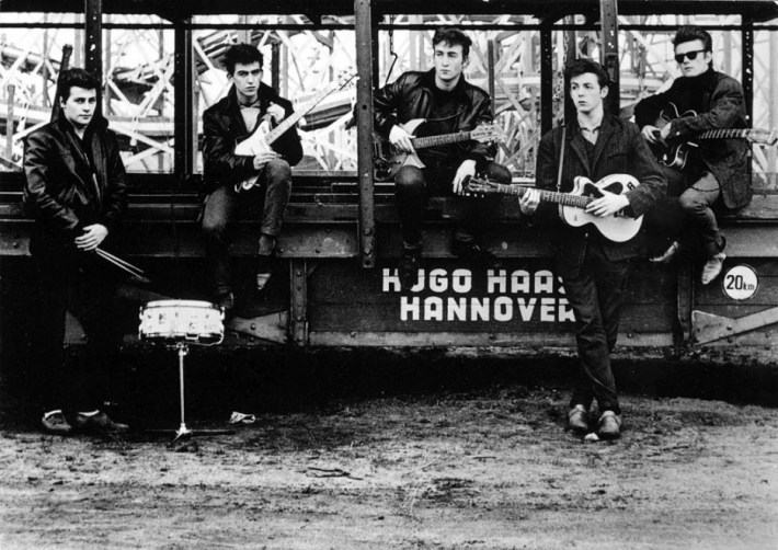 The Beatles before they were famous.