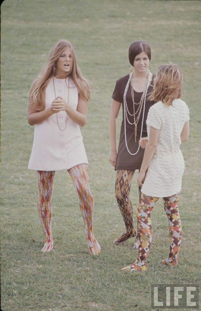 High school fashion feature in Life Magazine (1969).