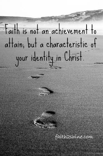 Faith characteristic