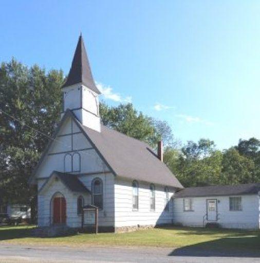The Gardeau Community Church near Sizerville, Pa.