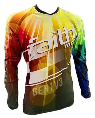 New Faith Race Creation Jersey