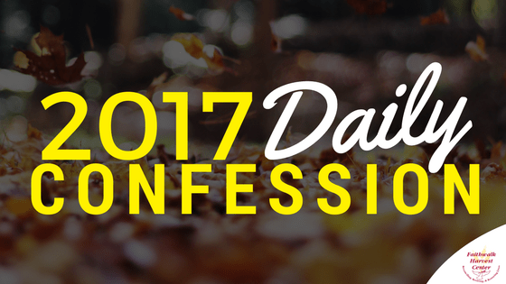 2017 Daily Confession