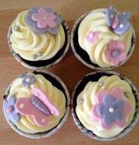 Custom-design 'Butterflies' Cupcakes
