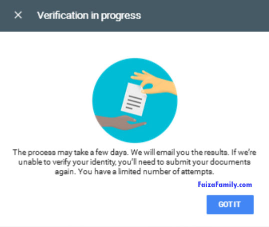 Verification in Progress