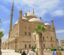 Mohd Ali Mosque also called the Alabaster Mosque